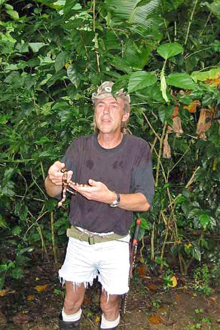 Wanderung Los Patos-Sirena Dschungel Schlangen Osa Ventura