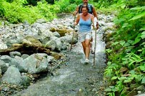 Wanderung Los Patos-Sirena_Wanderung durch Fluss_Osa Ventura_05-01-2018