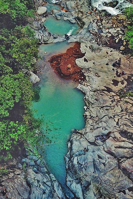 Wasserfälle Agrio