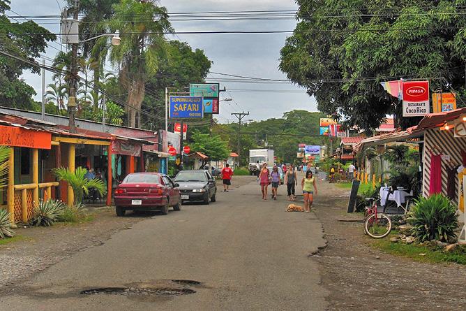 Cahuita Dorf