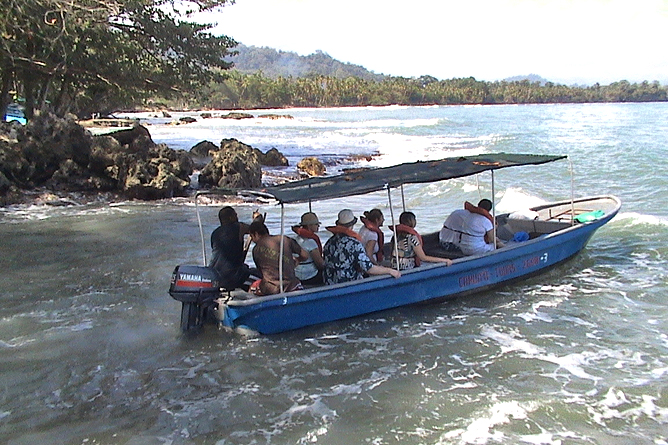 Cahuita Playa Puerto Vargas