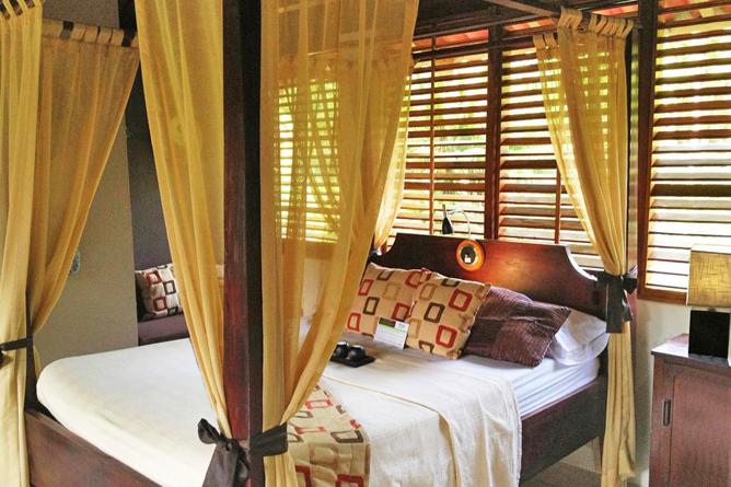 Casa Corcovado Deluxe Zimmer Doppelbett