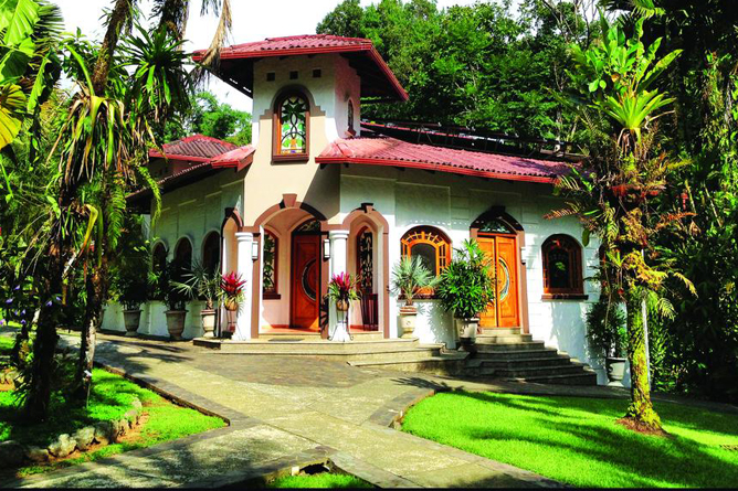 Casa Corcovado Hauptgebäude und Restaurant