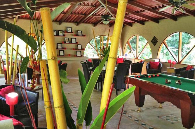 Casa Corcovado Lobby und Pool Billard Tisch