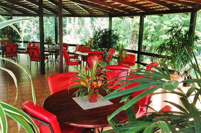 Casa Corcovado Restaurant Terrasse