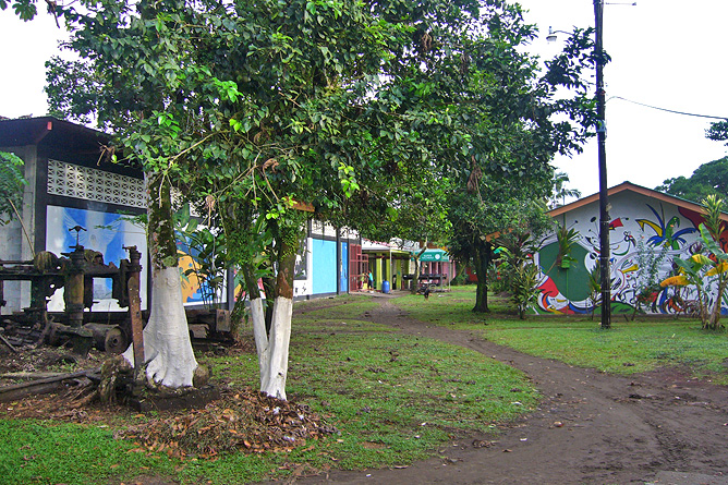 Tortuguero Dorf Tortuguero