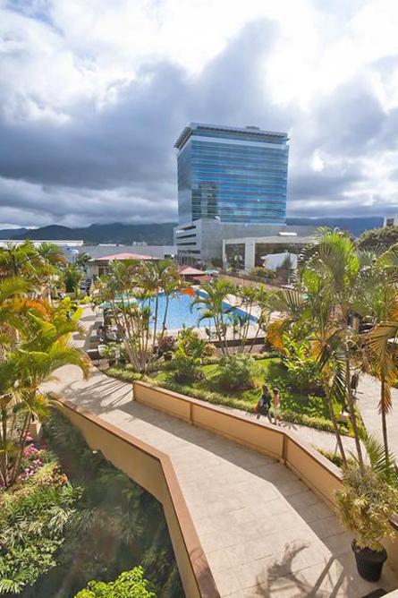 Costa Rica Tennis Club Hotelanlage