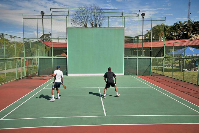 Costa Rica Tennis Club Squash Platz