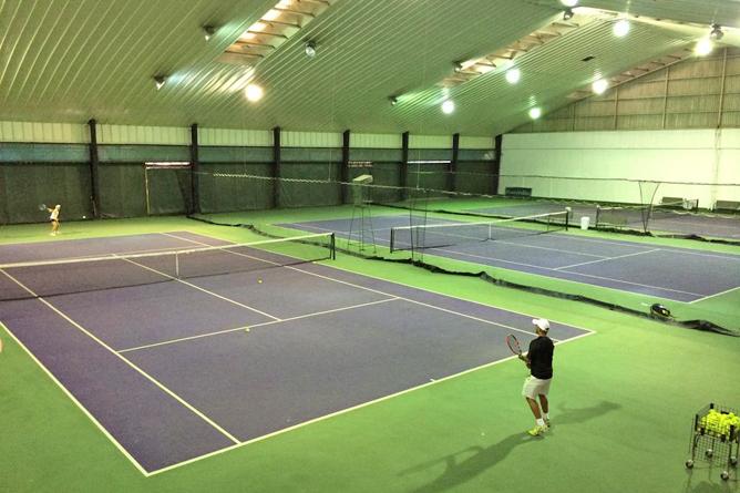 Costa Rica Tennis Club Tennisplätze