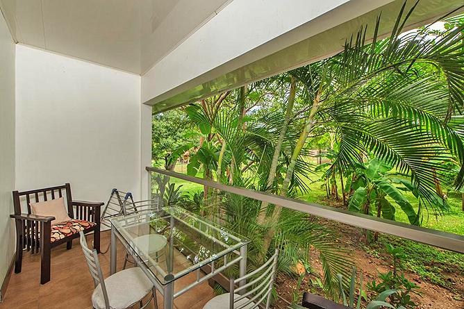 Hacienda JJ Zimmer Balkon
