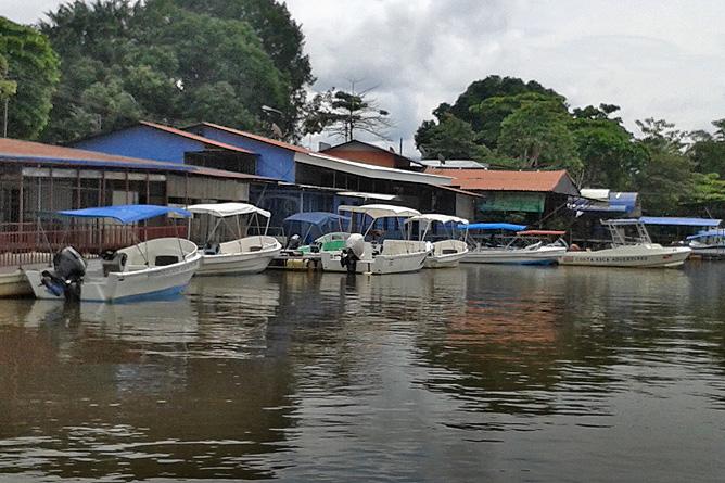 Sierpe Bootshafen