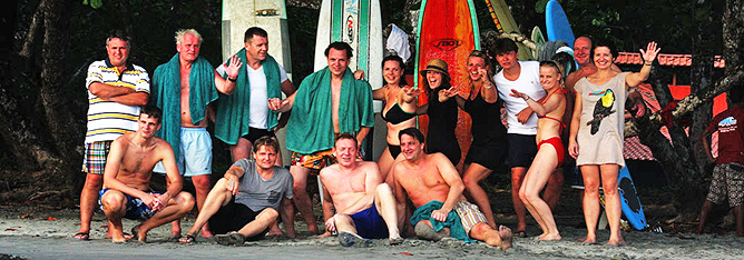 Surf Unterricht Costa Rica