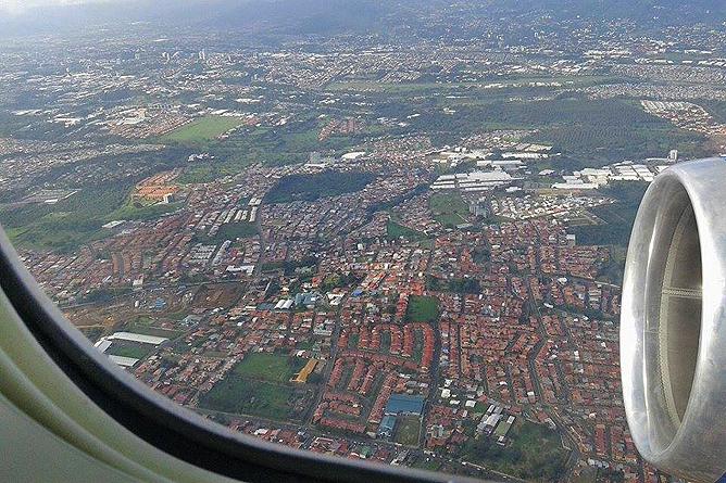 Flug Frankfurt San José