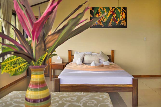 Rancho Corcovado Superior Zimmer Doppelbett