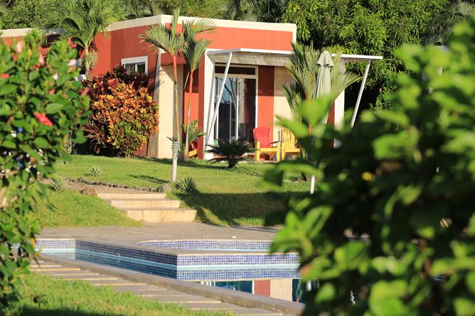 Casitas Sollevante Pool Villa Außenansicht