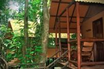 Rana Roja Bungalow Terrasse