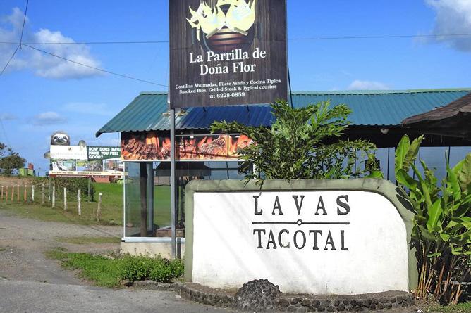 Lavas Tacotal Eingang