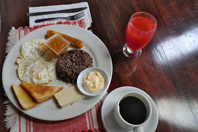 Lavas Tacotal Frühstück