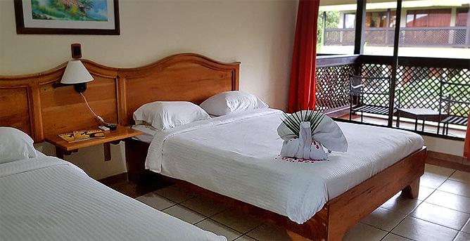 Lavas Tacotal Standard Zimmer mit Balkon
