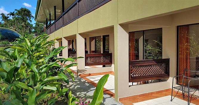 Lavas Tacotal Standard Zimmer mit Terrasse