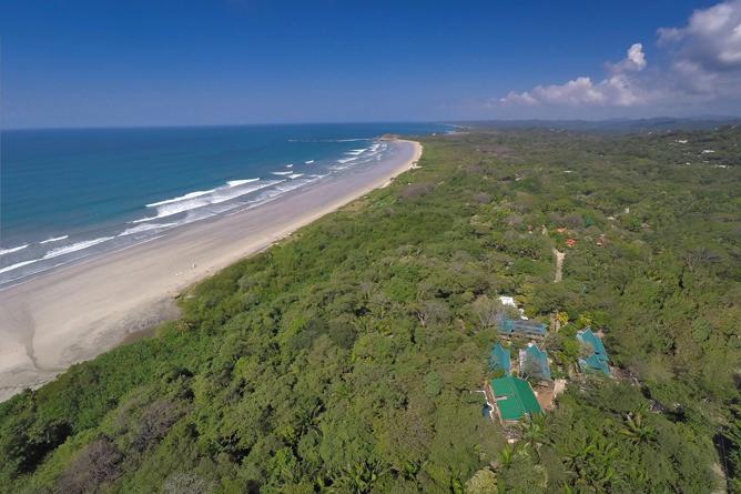 Playa Guiones and Olas Verdes Hotel