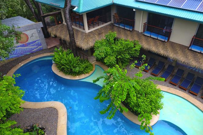 Olas Verdes Hotel Swimming Pool in Nosara