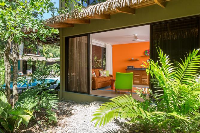 Olas Verdes Suite mit Zugang zum Garten
