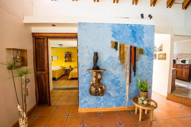 La Casona Guanacaste Zimmer Korridor