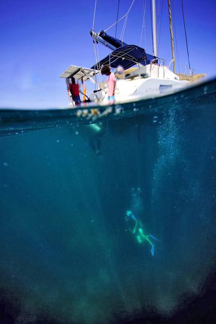 Tauchen Murcielago Inseln