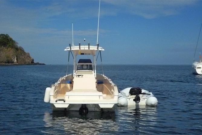Tauchen Papagayo Boot