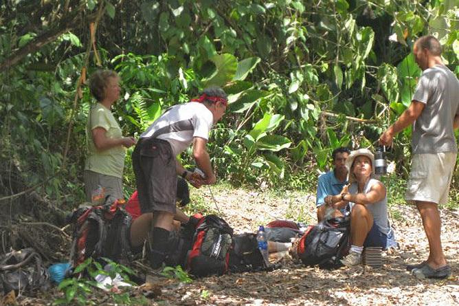 Osa Aventura Trekking Touren Corcovado Rast