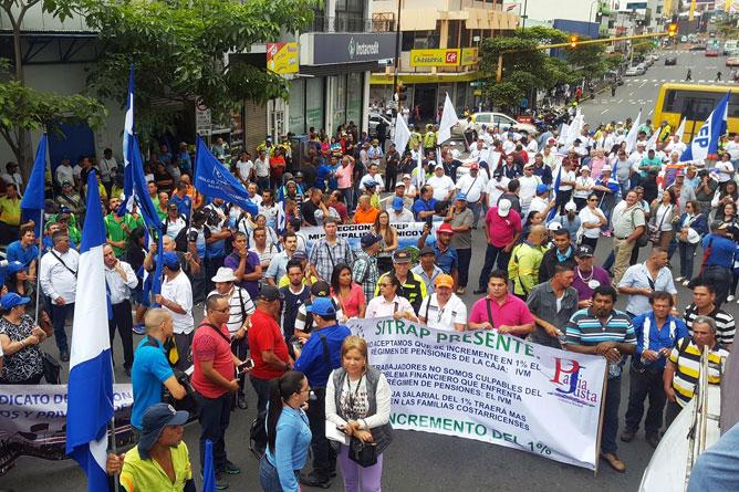 Streik (Foto: Tico Times ANEP Costa Rica)