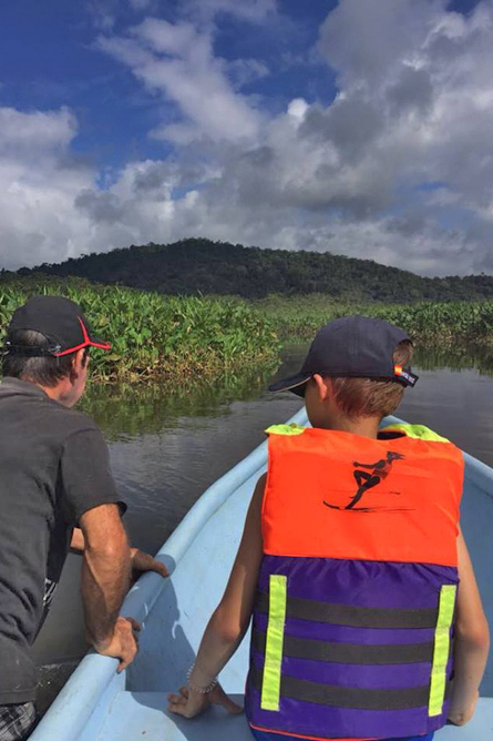 Gold Tour Lagune Chocuaco Bootsfahrt