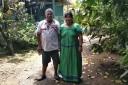 Ngoebe Mariano und Ehefrau Felicia