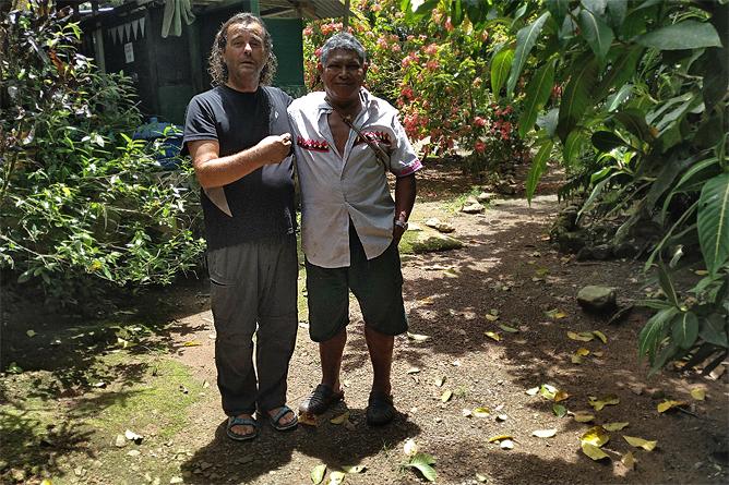Ngoebe Uli und Mariano
