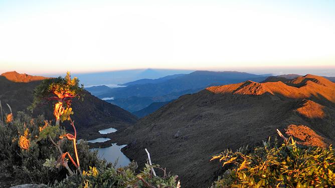 El Pelicano Aussicht vom Gipfel Atlantik/Pazifik