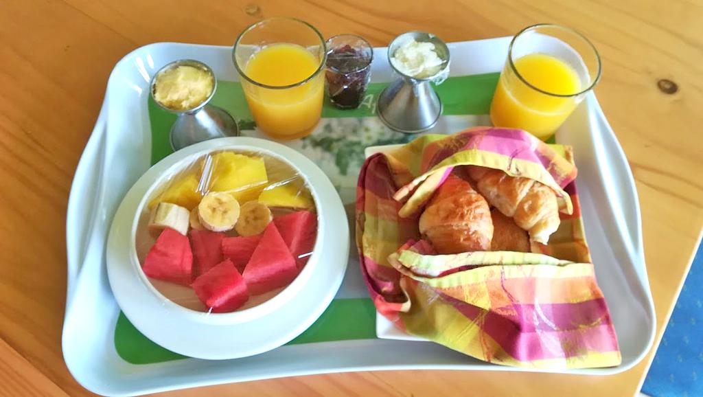 Pibi Boreal Frühstück