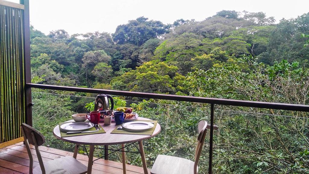Pibi Borreal – Frühstück auf der Terrasse
