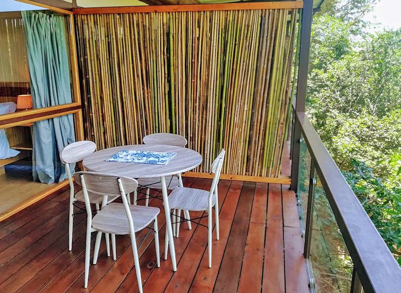 Pibi Boreal Standard Zimmer Terrasse