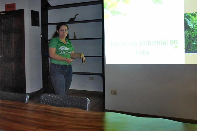 Sonati Programm-Direktorin Aneline Calvo Quirós