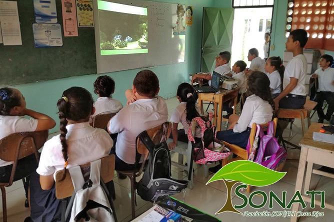 Sonati Umweltbildung im Klassenzimmer