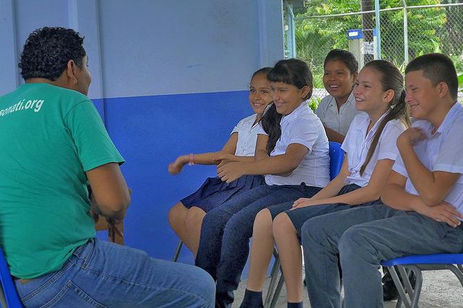 Sonati Umweltbildung in der Schule