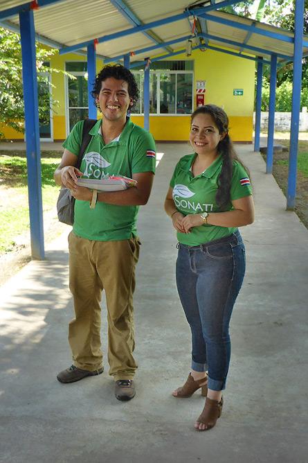 Sonati Luis Guillermo Rámirez und Angeline Calvo Quirós