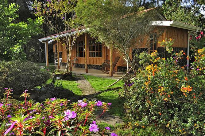 Suria Lodge Standard-Zimmer Gartenblick