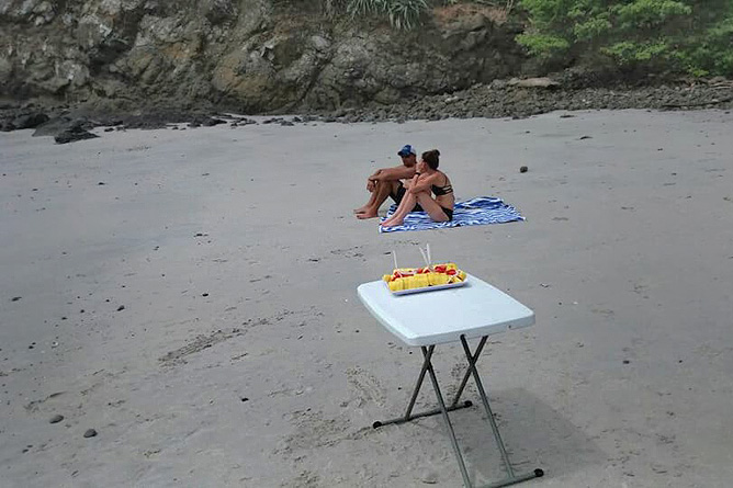 Yellowfin Bootstour Playa de Amor Früchte