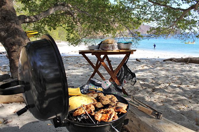 Yellowfin Bootstour Playa de Amor Grillen