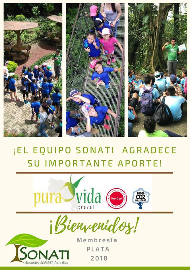 Pura Vida Travel unterstützt Sonati Costa Rica
