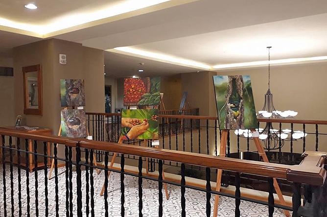 Heidy Jaen Porras Ausstellung Hotel Sleep Inn