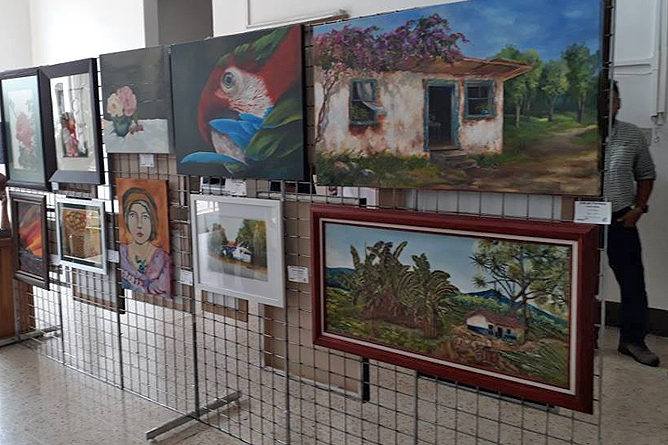 Heidy Jaen Porras Ausstellung