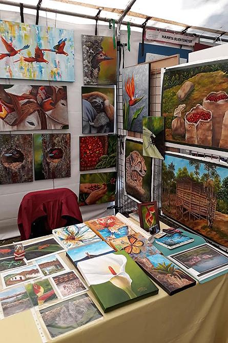 Heidy Jaen Porras Künstlermarkt